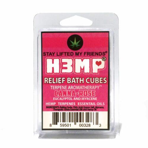 H3MP BATH CUBES: CANNA-ROSE