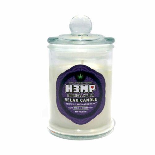 H3MP CANDLE IN JAR: TROPICAL MANGO